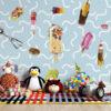 IJsjes behang: Lang leve de ijsjes