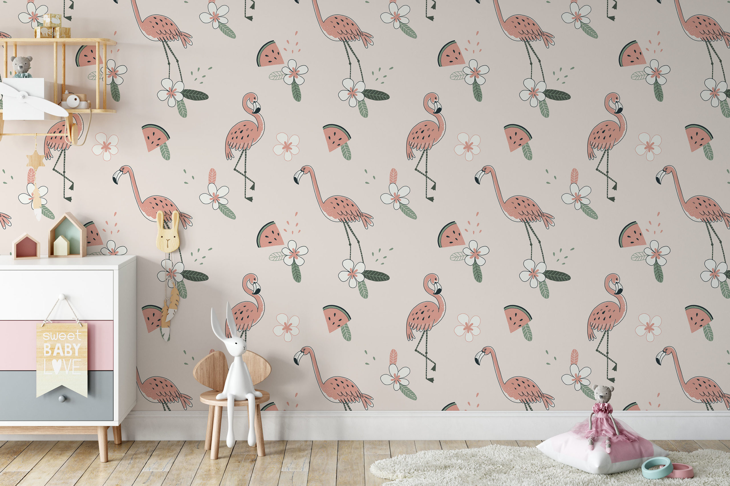 Flamingobehang