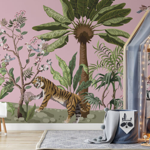 Chinoiserie in the jungle