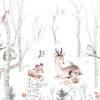 Behang Dieren in het bos