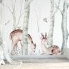 Herten in het bos
