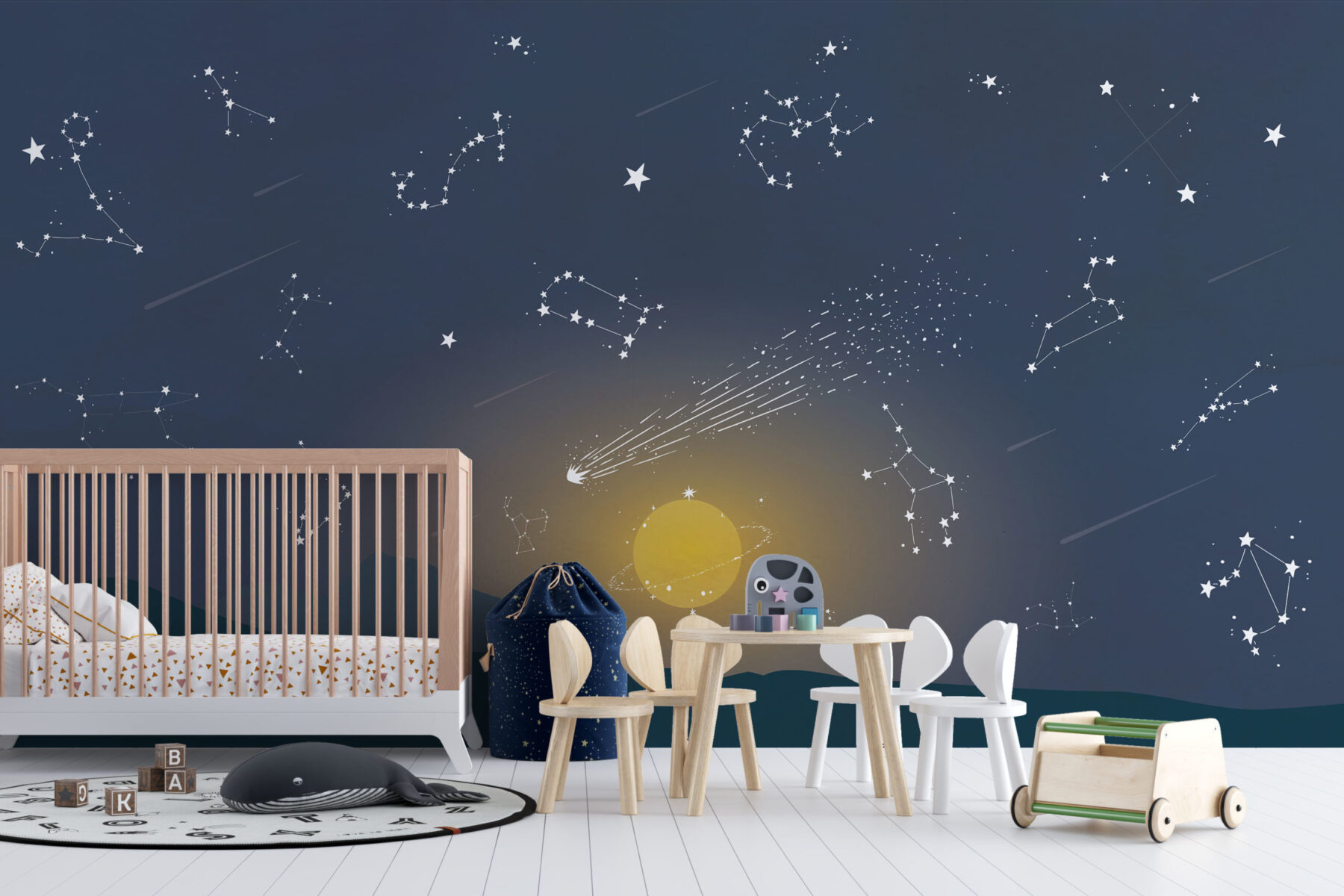 Behang met sterrenbeelden - Sterren behang ~ Walloha.com
