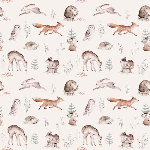 Bosdieren patroon