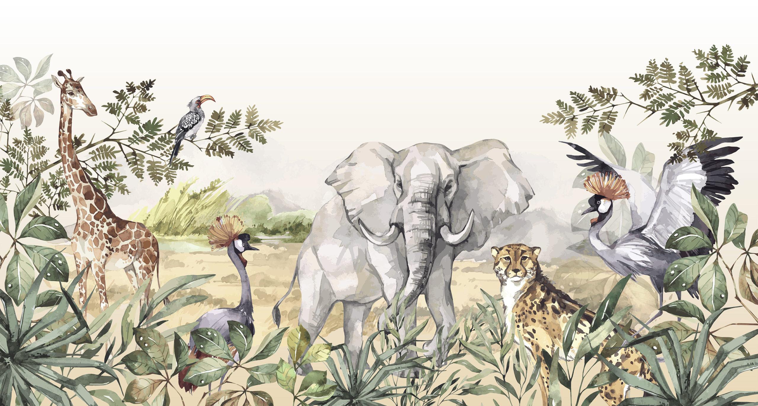 Dieren van de savanne