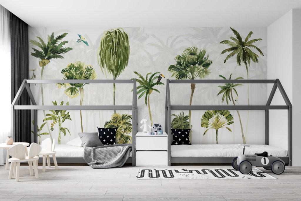 Palmbomen paradijs