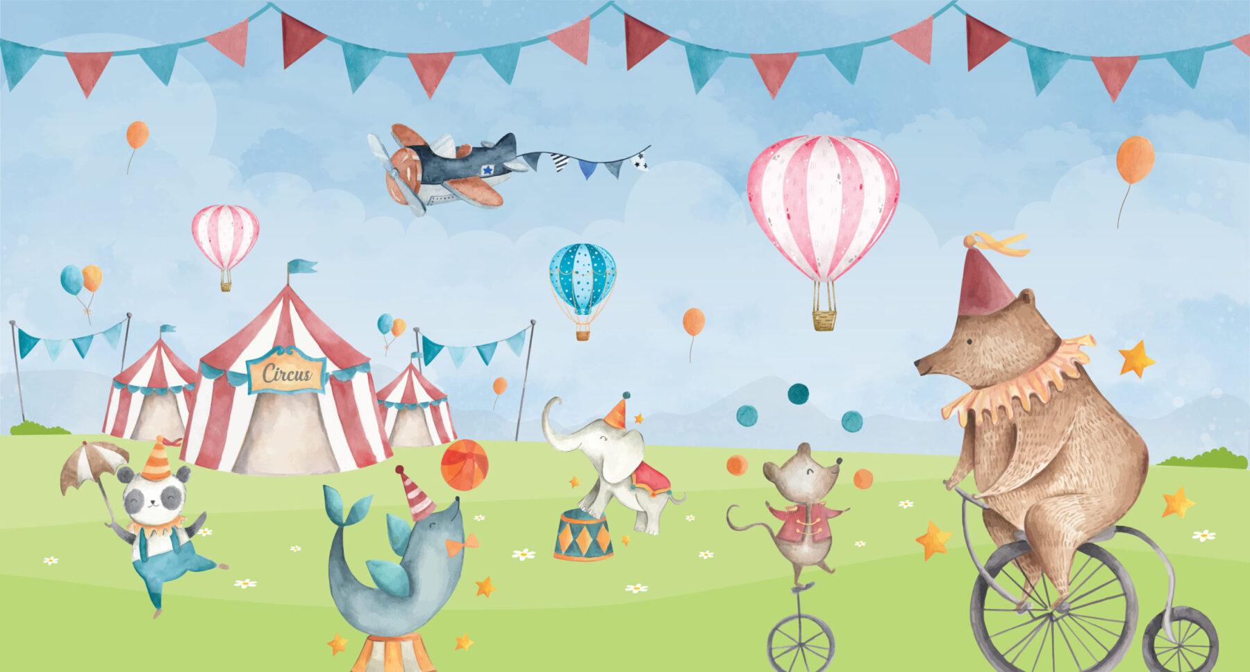 Circus in het land