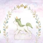 Baby Unicorn on a Cloud