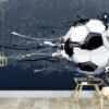 Voetbal behang