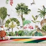 WP-062 Kinderkamer jungle safari