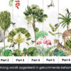 Behang Kinderkamer jungle safari