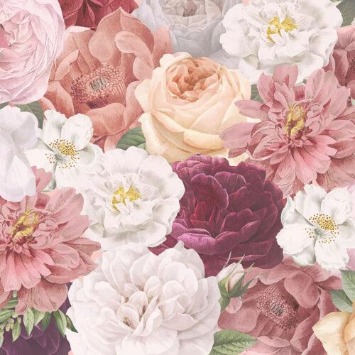 Bloemen behang Klassieke schoonheid
