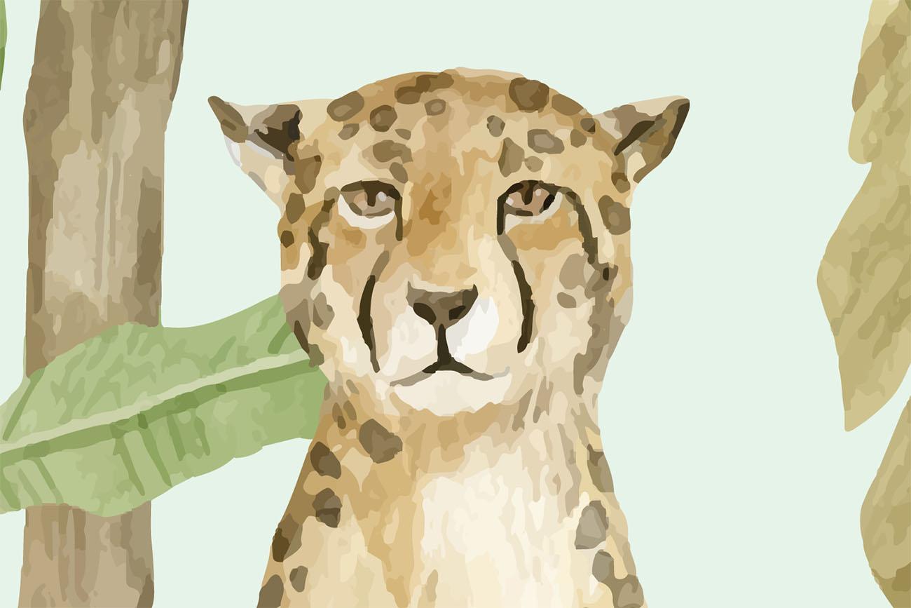 Behang - Jungle verhaal